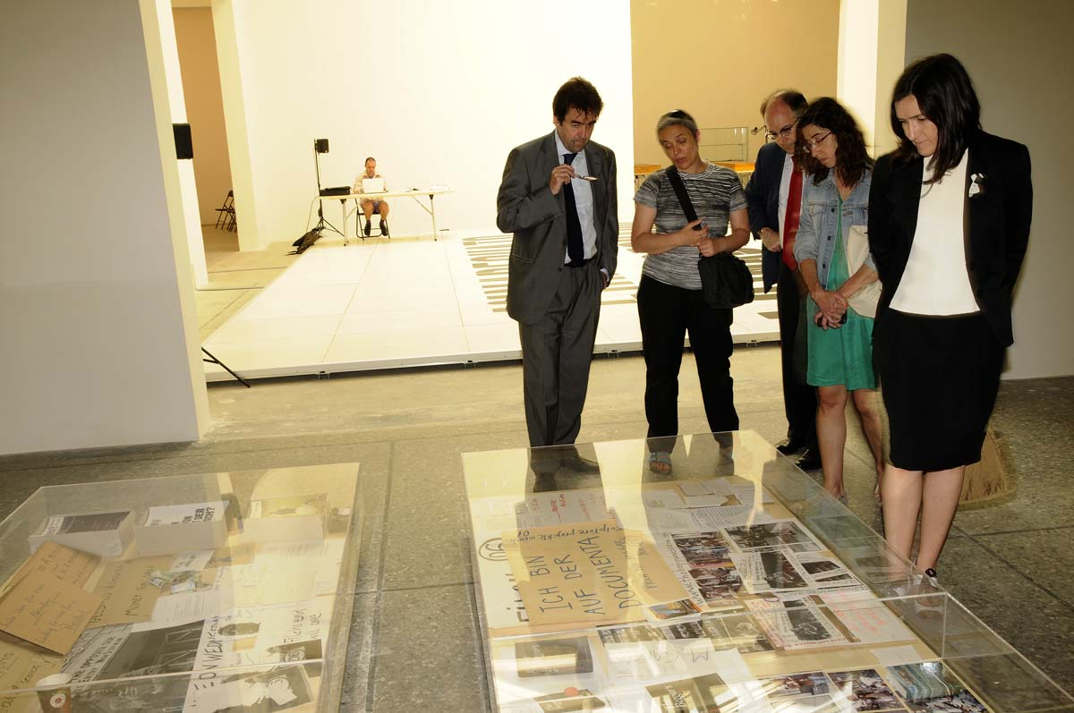 Allestimento Biennale d'Arte padiglione spagnolo 2011 - Dora Garcia
