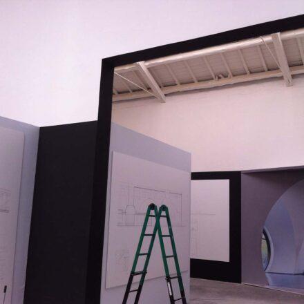 Allestimento padiglione spagnolo 14a Biennale Architettura 2014
