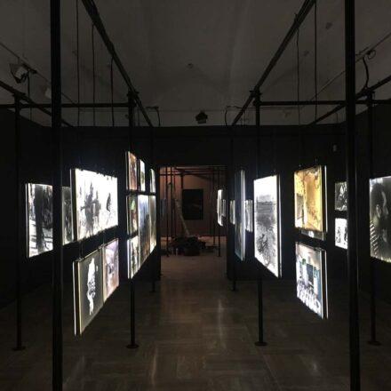 Allestimento Reale Accademia di Spagna a Roma 2017