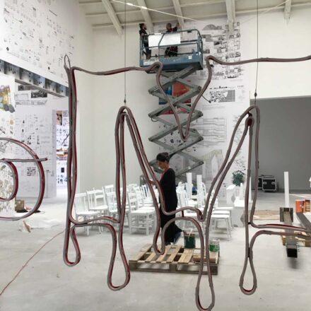 Allestimento Biennale Architettura Venezia 2018